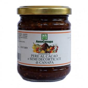 Dulceata cu cacao și semințe de cânepă decorticate 230g